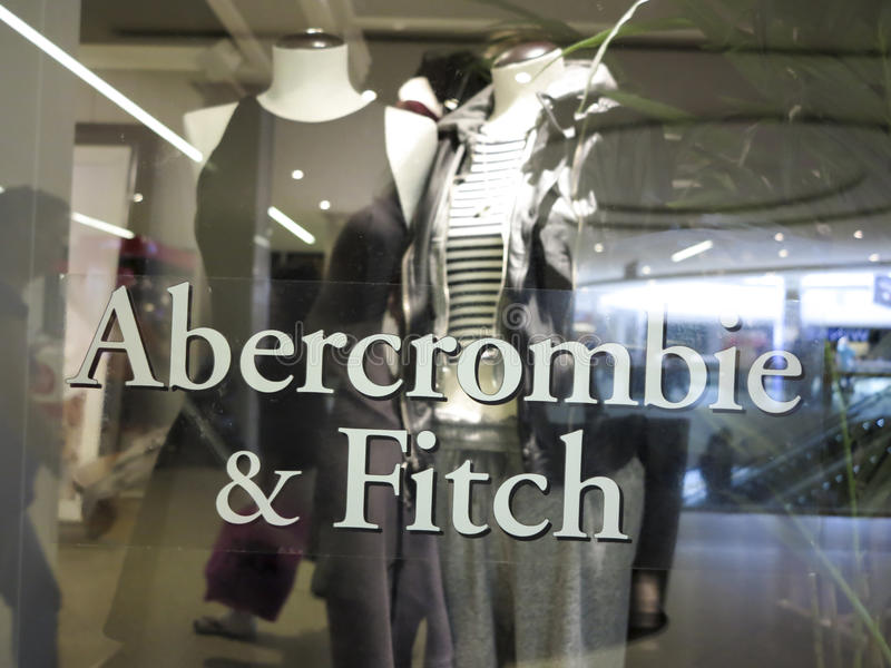 Abercrombie & Fitch Store stock afbeelding