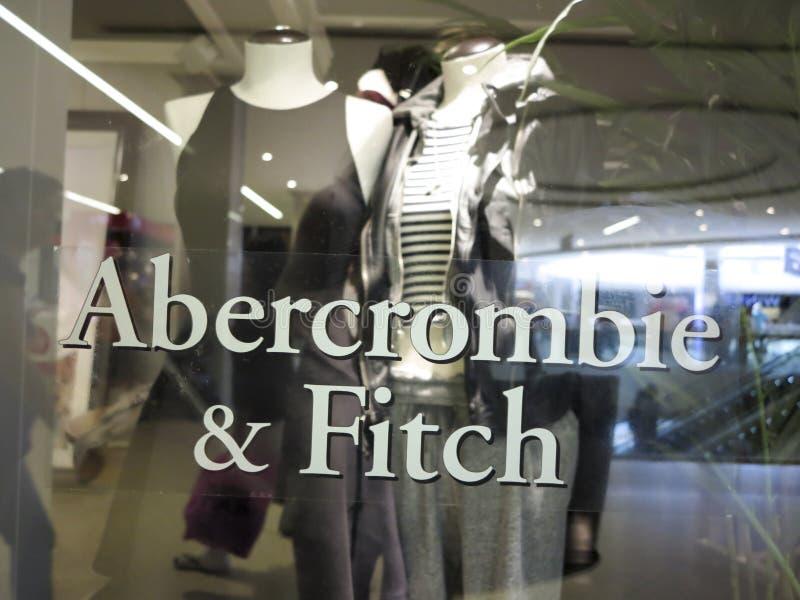 Abercrombie u. Fitch Store stockbild