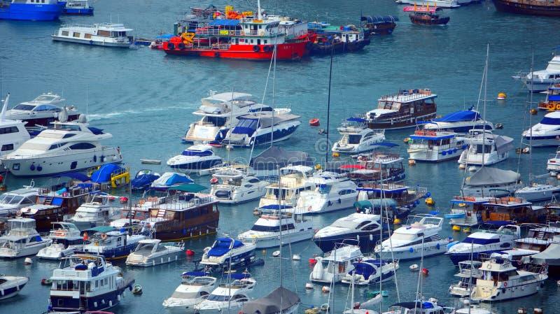 Aberdeen-Boote, Hong Kong stockfotografie