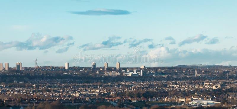 Aberdeen city, Scotland. Aberdeen city UK also known as Granite, Scotland royalty free stock photo