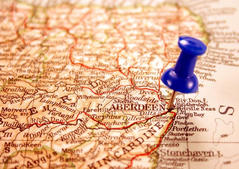 Aberdeen, Ecosse photo libre de droits