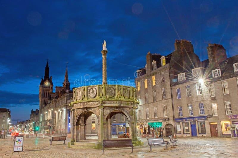 Aberdeen Escocia fotografía de archivo libre de regalías