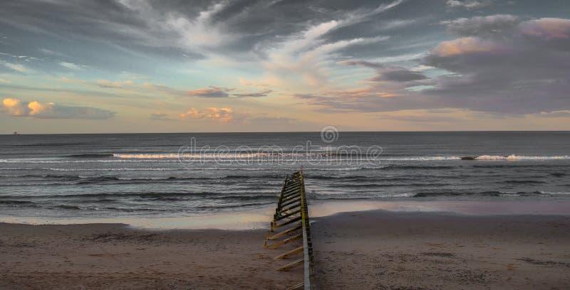 Aberdeen-Himmel lizenzfreies stockfoto
