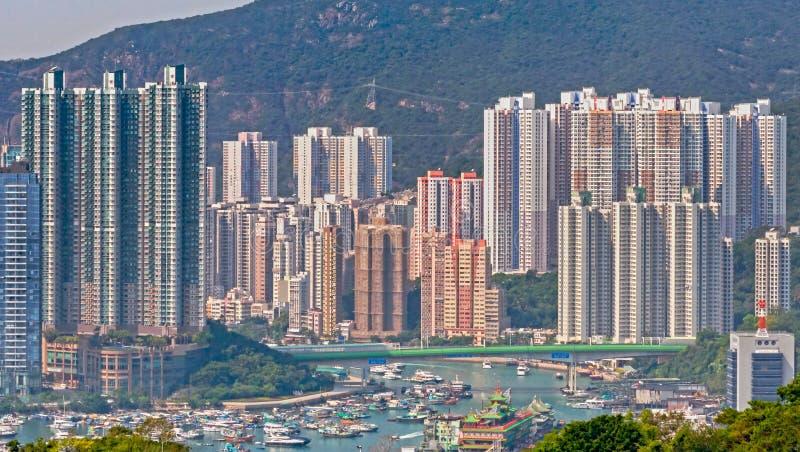 Aberdeen Hong Kong image stock