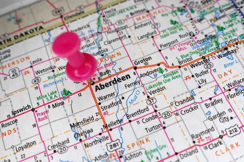 Aberdeen, le Dakota du Sud photos libres de droits