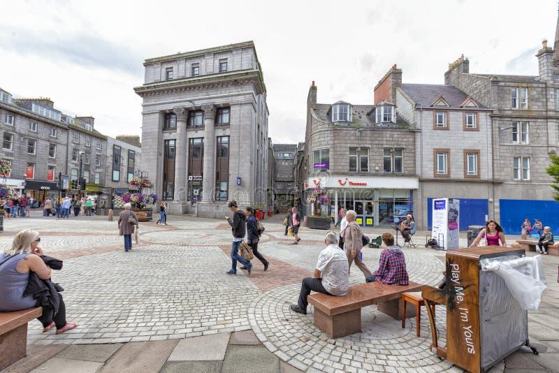 Aberdeen que relaxa foto de stock royalty free