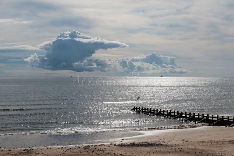 Aberdeen strand royaltyfri foto