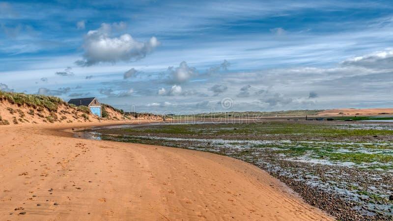Aberdeenshire coast at Newburgh seal beach.Scotland stock photo