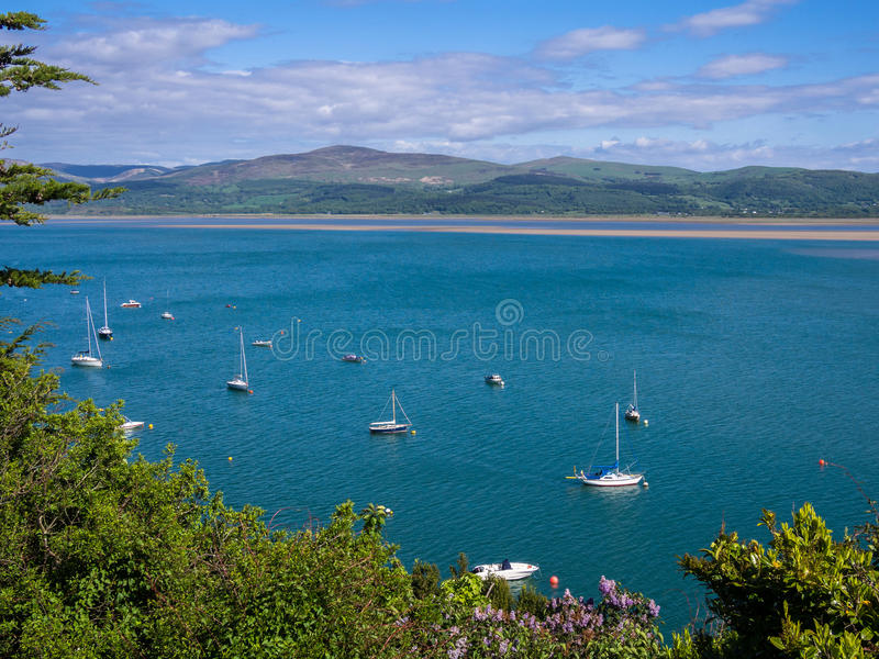 Aberdovey Seaside Holiday Resort, Wales royalty free stock photography