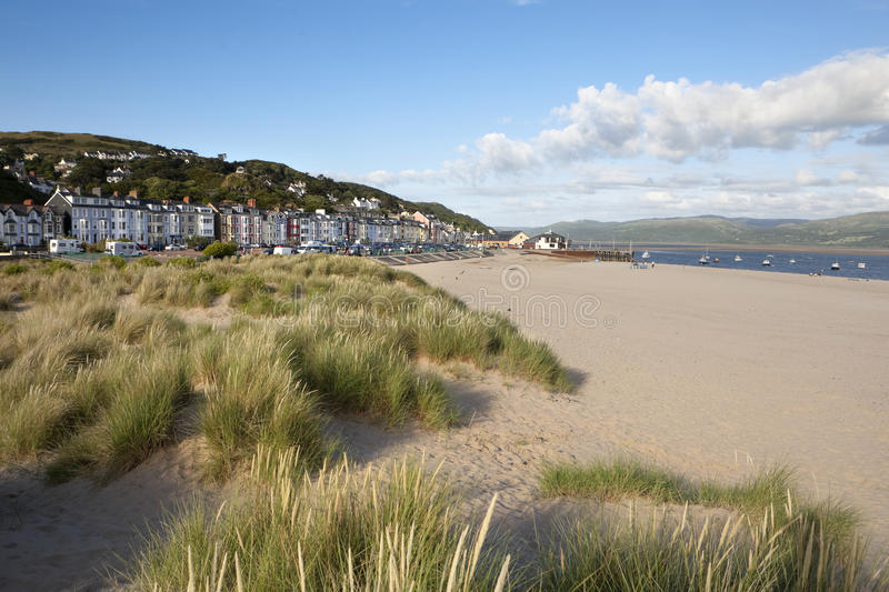 Aberdovey, North Wales stock photography