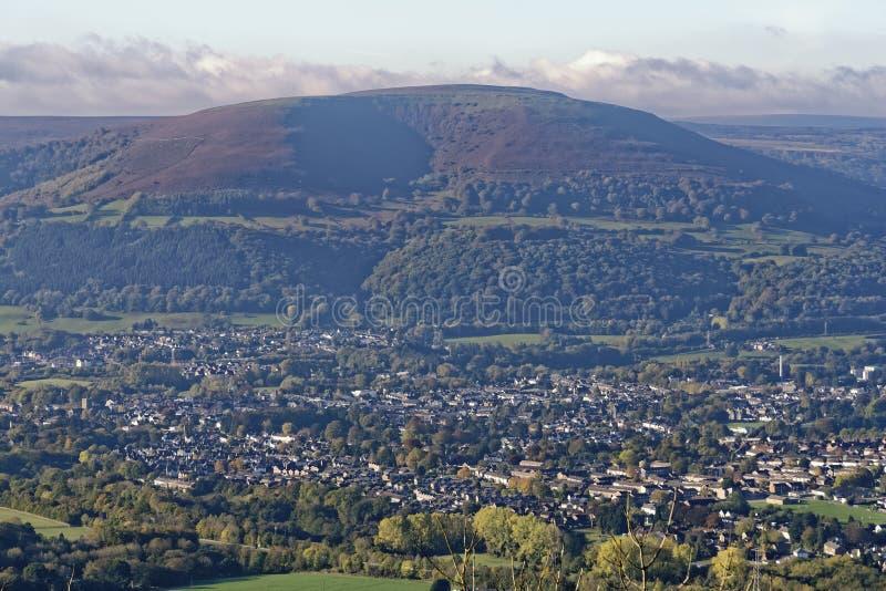 Abergavenny & Blorenge royaltyfri bild