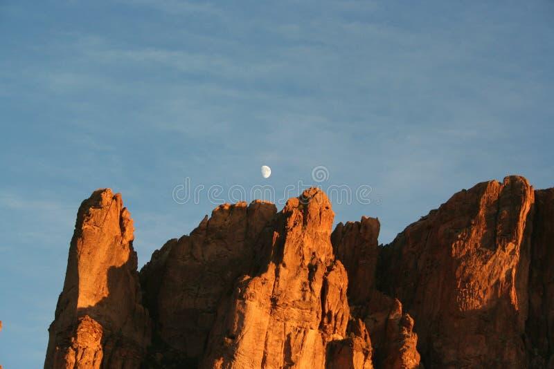 Aberglaube-Berge lizenzfreies stockbild