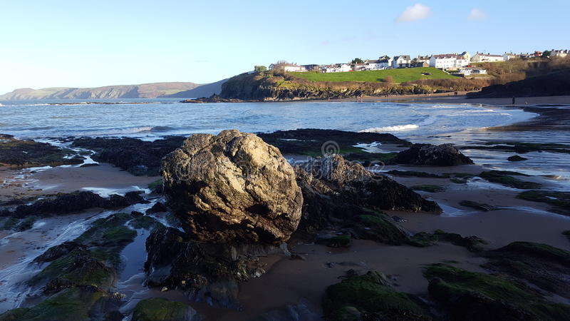 Aberporth Wales royalty free stock photo