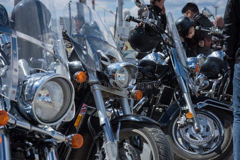 Abertura da estação nova do motociclista fotos de stock