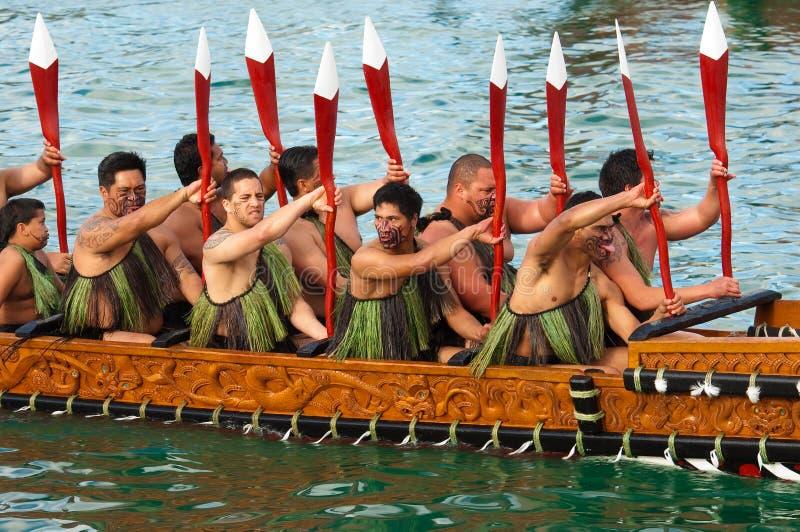 Abertura de RWC - beira-rio de Waka Auckland foto de stock royalty free