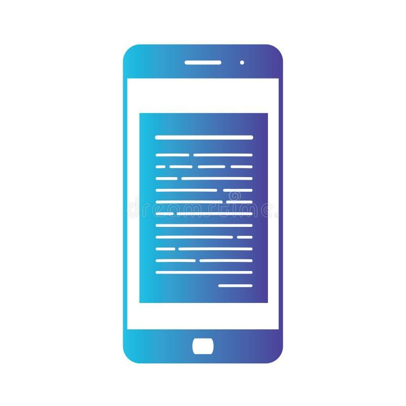 Abertura de un correo electrónico entrante a un smartphone Envío por correo electrónico, Spam, comercio electrónico E libre illustration