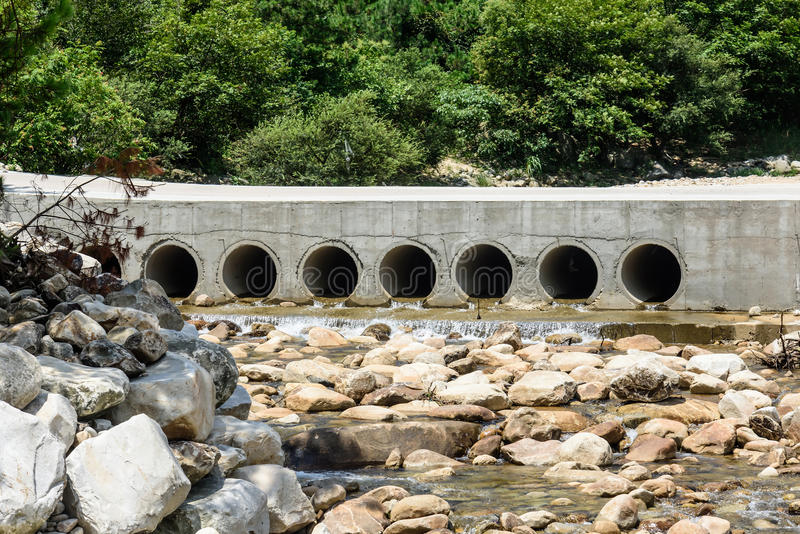 Abertura del puente imagen de archivo