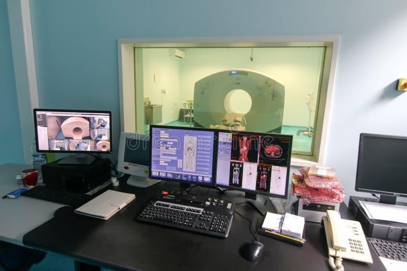 Abertura oficial do primeiro varredor da imagem latente PET-CT do CT foto de stock royalty free