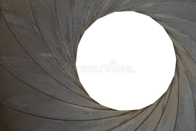 Abertura vieja - diafragma de la exposición imágenes de archivo libres de regalías