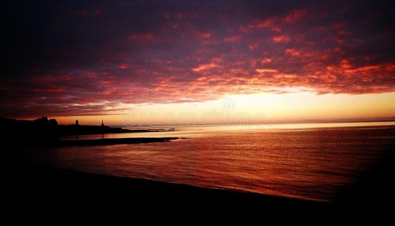 Aberystwyth Sunset (2001) stock photos