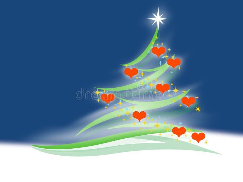 Download Abeto stock de ilustración. Ilustración de navidad, ilustración - 7288350