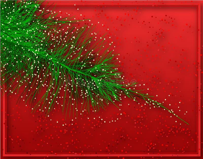 Abeto do Natal ilustração stock