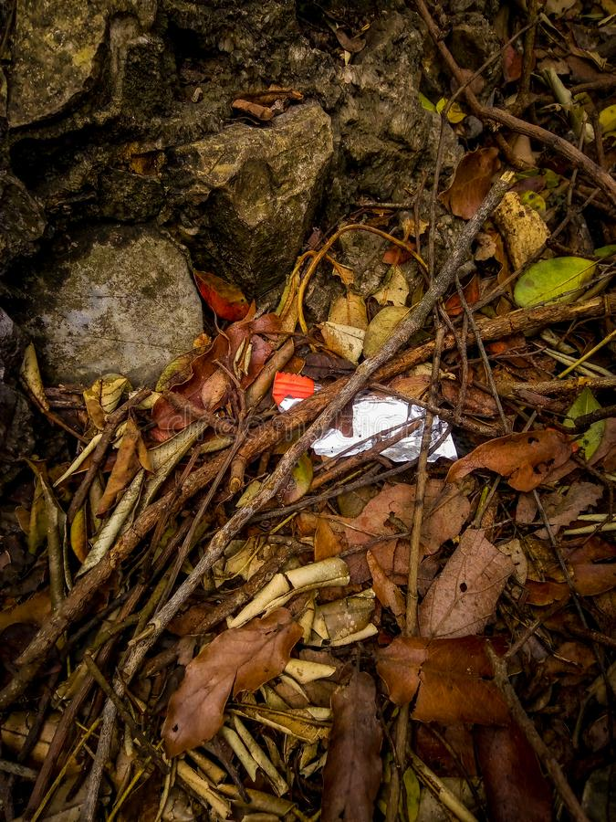 Abfall in der Welt stockfotos