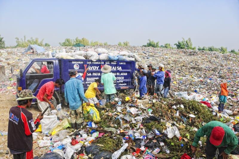 Abfall-Reiniger stockbild