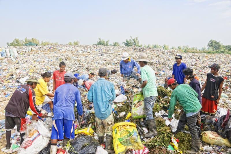Abfall-Reiniger stockfotos