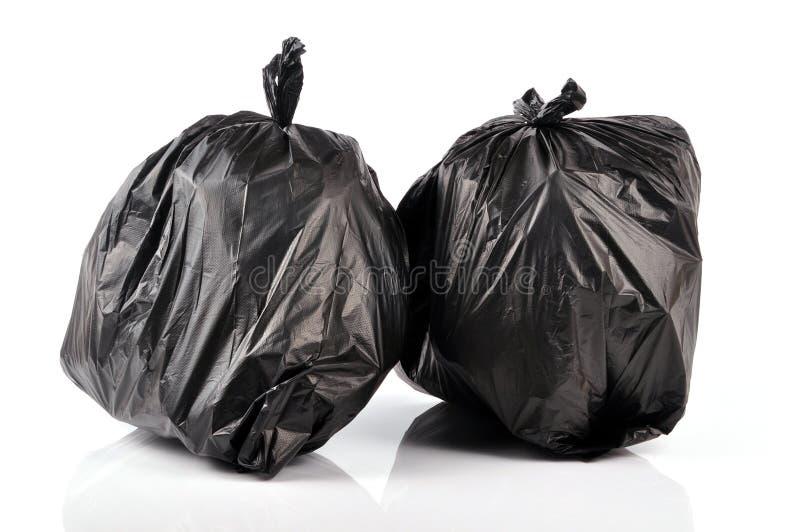 Abfallbeutel lizenzfreie stockbilder