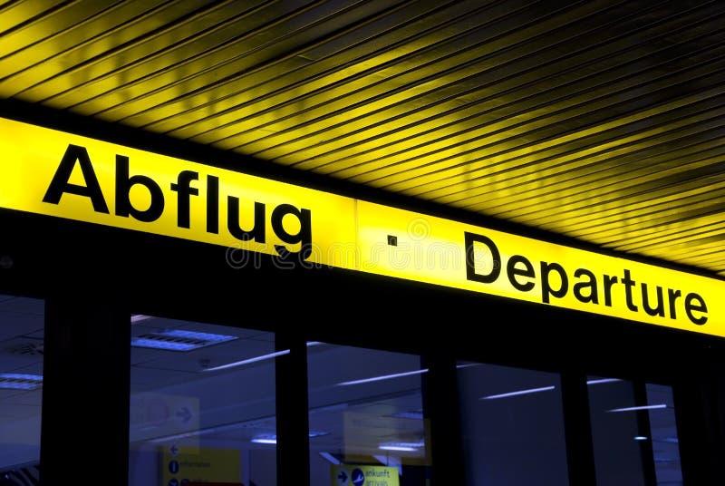 Download Abflug odjazdy zdjęcie stock. Obraz złożonej z niemiec - 13342556