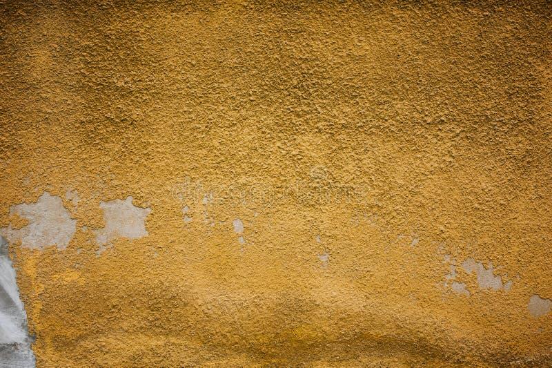 Abgebrochen, Farbe, orange Schmutzhintergrundbeschaffenheit abziehend lizenzfreie stockfotos