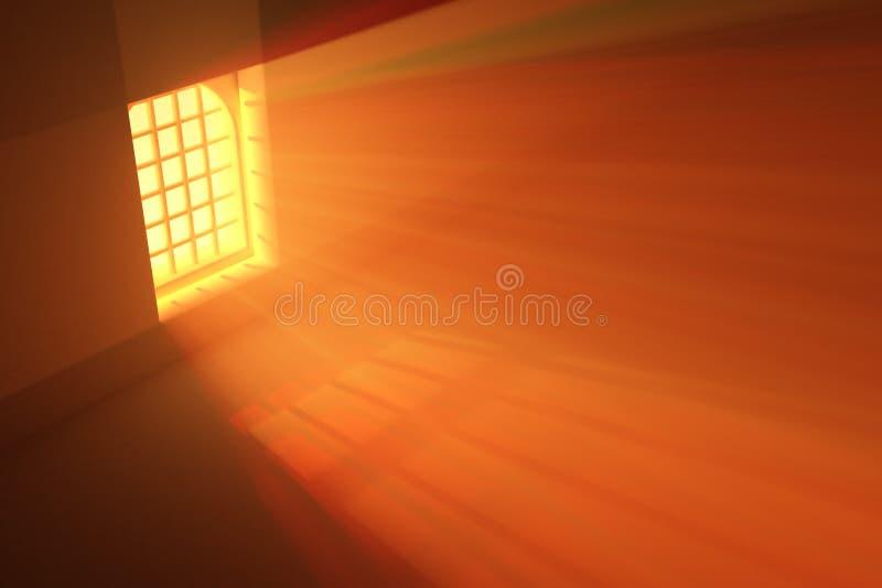 Abgehaltene Bogen-Leuchte vektor abbildung