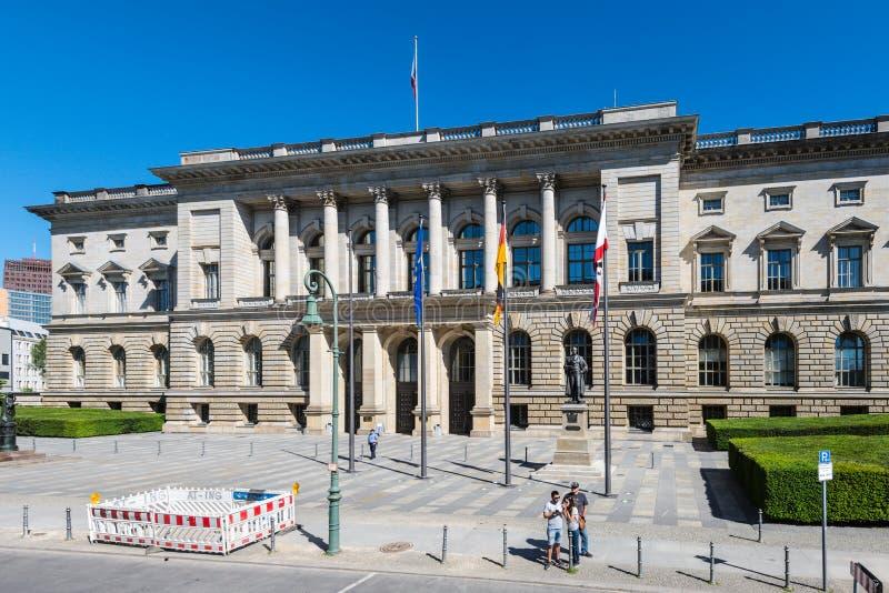 Abgeordnetenhaus di Berlino, il Parlamento Landtag dello stato per la t immagine stock libera da diritti