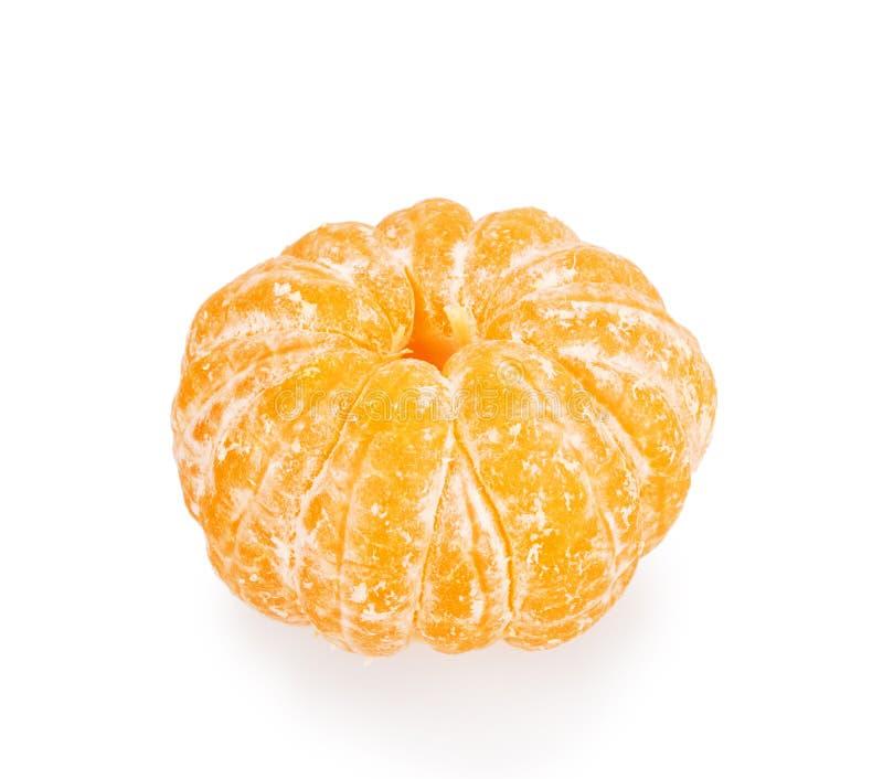 Abgezogene Mandarine lizenzfreie stockbilder
