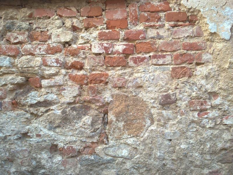 Abgezogener gebrochener Gips-Wand-Hintergrund stockbild