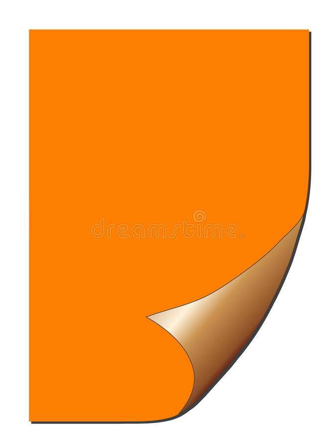 Abgezogenes Papier/Aufkleber (Vektor) lizenzfreie abbildung