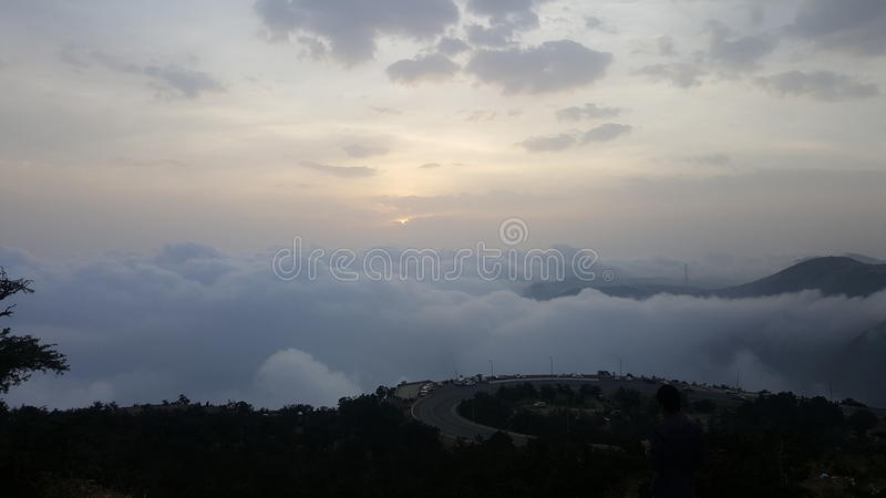 abha city royalty free stock image