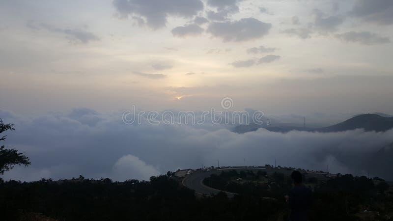 Abha-Stadt lizenzfreies stockbild