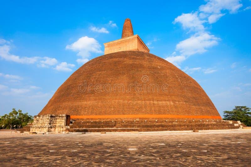 Abhayagiri Vihara σε Anuradhapura στοκ φωτογραφία