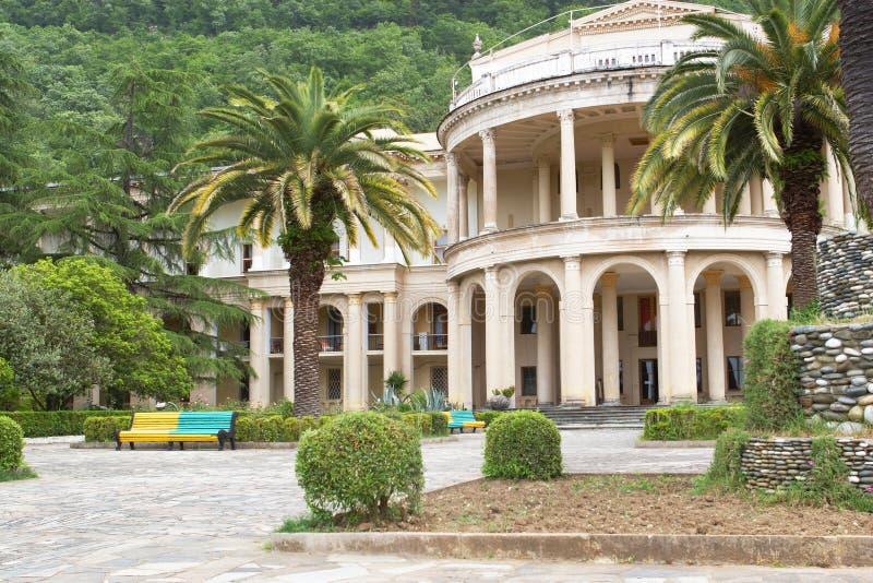 abhkazian sanatorium zdjęcia stock