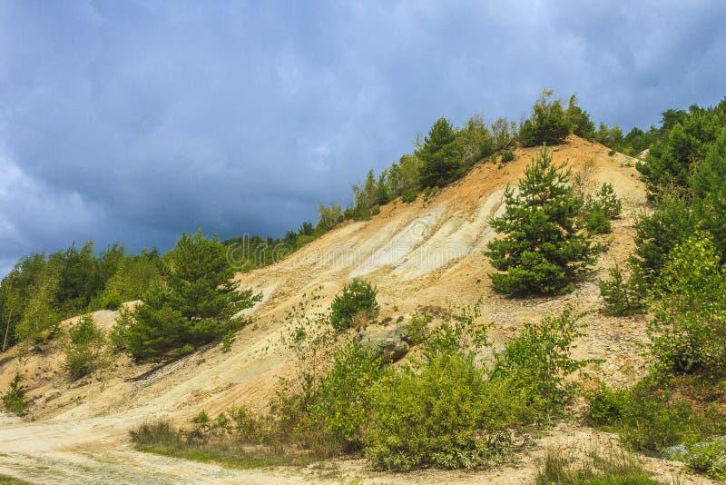 Abholzung und Abnutzung lizenzfreies stockfoto