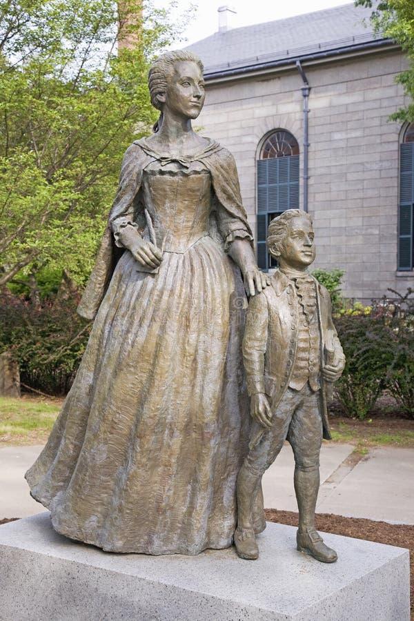 Abigail και John Quincy Adams στοκ εικόνες