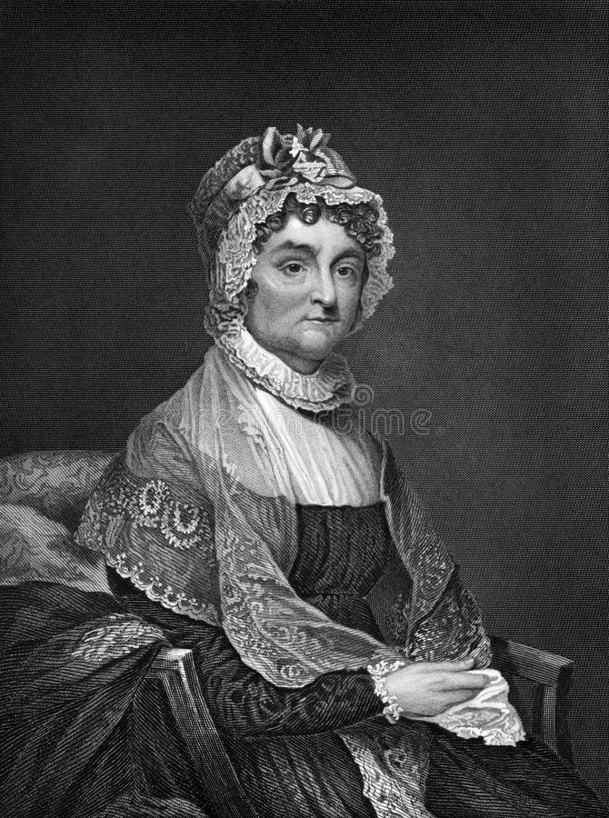 Abigail Adams arkivfoto