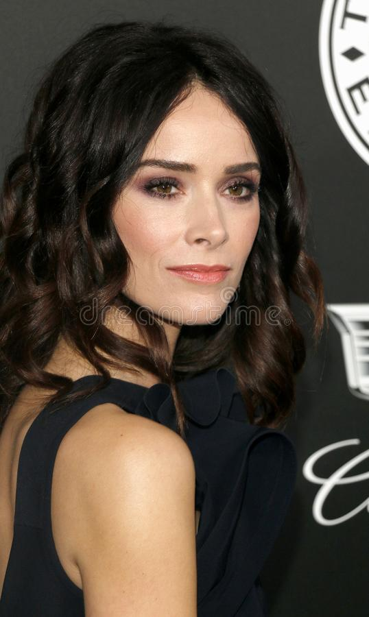 Abigail Spencer. At the Art Of Elysium`s 11th Annual Heaven Celebration held at the Barker Hangar in Santa Monica, USA on January 6, 2018 royalty free stock photography
