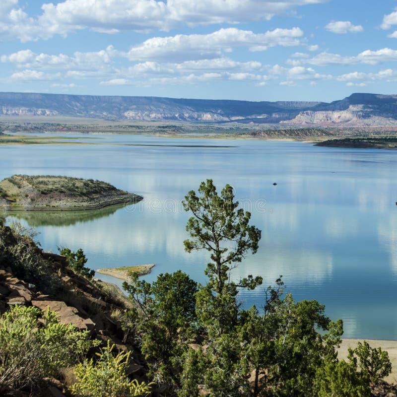 Abiquiumeer in Noord- centraal New Mexico royalty-vrije stock afbeeldingen