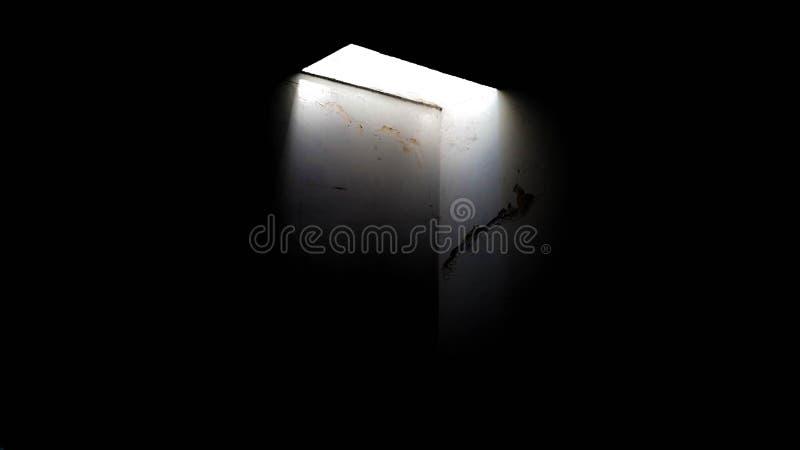 Abismo de luz 库存图片