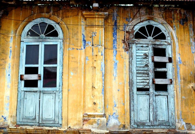Abitazione dilapidata fotografia stock libera da diritti