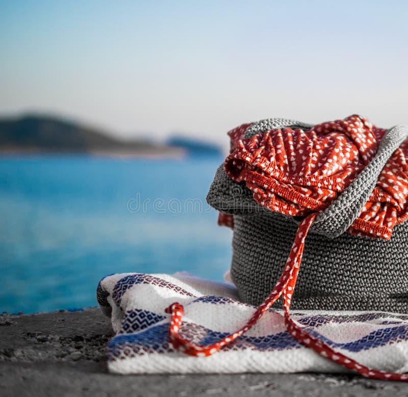 Abito della spiaggia fotografia stock