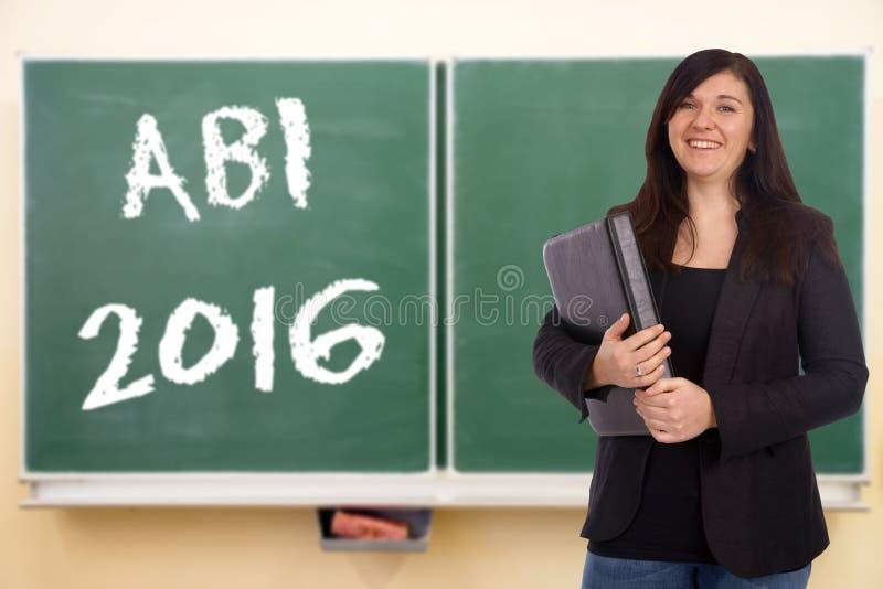 Abitur 2016 stockfoto